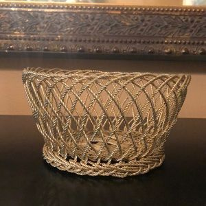 Gold basket made in India